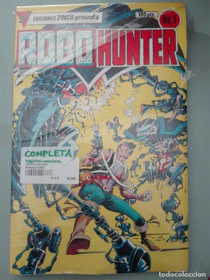 ROBO HUNTER COMPLETA # (Tebeos y Comics - Zinco - Infinity Inc)