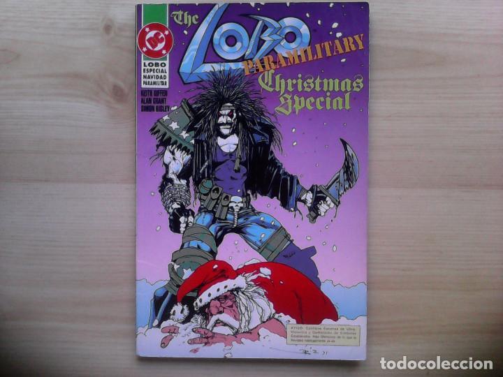 LOBO. PARAMILITARY CHRISTMAS SPECIAL (Tebeos y Comics - Zinco - Lobo)