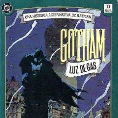 Cómics: GOTHAM: LUZ DE GAS. BATMAN. Lote 155967306