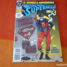 Cómics: SUPERMAN VOL. 3 Nº 1 EL REINADO DE LOS SUPERHEROES ( KESEL ) ¡BUEN ESTADO! DC ZINCO. Lote 156028702