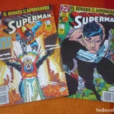 Cómics: SUPERMAN VOL. 3 NºS 3 Y 4 EL REINADO DE LOS SUPERHEROES ( JURGENS KESEL ) ¡BUEN ESTADO! DC ZINCO. Lote 156028902