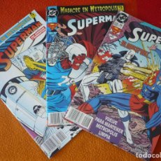 Cómics: SUPERMAN VOL. 3 NºS 14, 15 Y 16 ( JURGENS ) ¡BUEN ESTADO! DC ZINCO. Lote 156029154