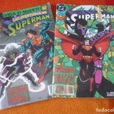 Cómics: SUPERMAN VOL. 3 NºS 26 Y 27 ( KESEL JURGENS ) ¡BUEN ESTADO! DC ZINCO. Lote 156029358