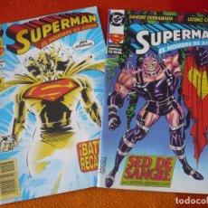Cómics: SUPERMAN EL HOMBRE DE ACERO NºS 7 Y 8 ( STERN LOUISE SIMONSON ) ¡BUEN ESTADO! DC ZINCO . Lote 156029862