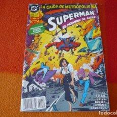 Cómics: SUPERMAN EL HOMBRE DE ACERO Nº 14 ( STERN GUICE ) ¡BUEN ESTADO! DC ZINCO . Lote 156030006