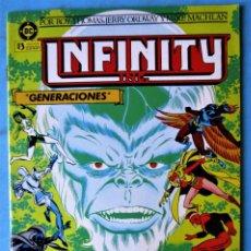Cómics: INFINITY Nº 2 - ZINCO 1986 ''MUY BUEN ESTADO''. Lote 156448094
