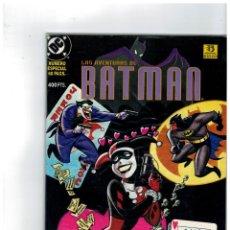 Cómics: LAS AVENTURAS DE BATMAN -AMOR LOCO- NÚMERO ESPECIAL. MUY BUENO.. Lote 156558434