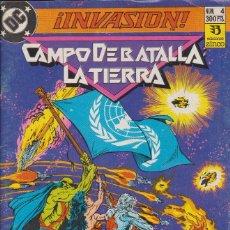 Cómics: INVASIÓN. CAMPO DE BATALLA LA TIERRA. Lote 156620134