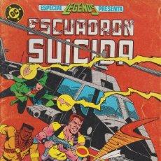 Cómics: ESCUADRÓN SUICIDA. PRUEBA DE SANGRE. ESPECIAL LEGENDA Nº 2 EDICIONES CINCO 1987. Lote 156623538