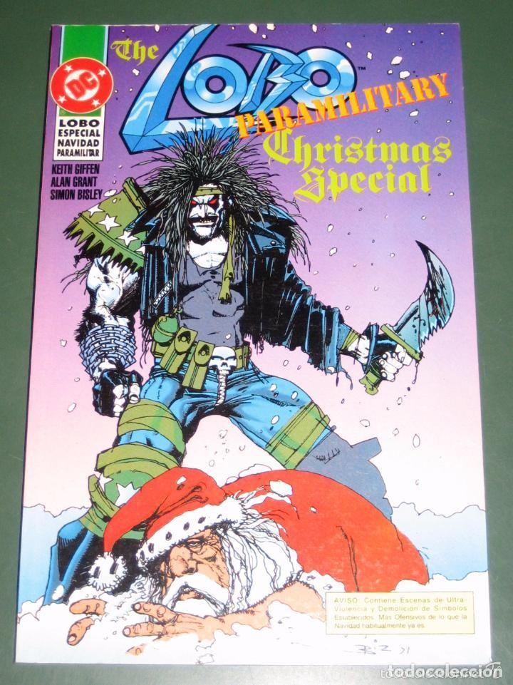 LOBO: ESPECIAL NAVIDAD PARAMILITAR / THE LOBO PARAMILITARY CHRISTMAS SPECIAL (DC-ZINCO) (Comics und Tebeos - Zinco - Lobo)