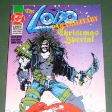 Cómics: LOBO: ESPECIAL NAVIDAD PARAMILITAR / THE LOBO PARAMILITARY CHRISTMAS SPECIAL (DC-ZINCO). Lote 156647314