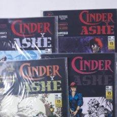 Cómics: CINDER Y ASHE, COMPLETA, 4 NÚMEROS, CONWAY / GARCÍA LÓPEZ. Lote 156655838