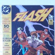 Cómics: FLASH Nº1, SERIE LIMITADA ESPECIAL 50 ANIVERSARIO - EL ORIGEN DE FLASH. Lote 156657286