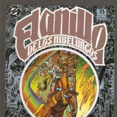 Cómics: EL ANILLO DE LOS NIBELUNGOS - Nº 2 LIBRO DOS LA VALKYRIA - GIL KANE - EDICIONES ZINCO - 1986 - . Lote 156904498