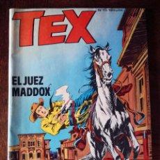 Cómics: TEX OESTE Nº 13 ZINCO COMIC 1983 NUEVO EL JUEZ MADDOX G. L. BONELLI. Lote 240802030