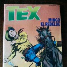 Cómics: TEX OESTE Nº 12 ZINCO COMIC 1983 NUEVO MINGO EL REBELDE G. L. BONELLI. Lote 157916206