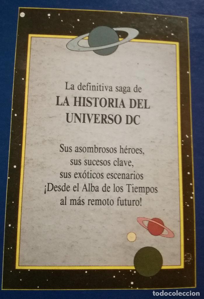 HISTORIA DEL UNIVERSO LIBRO 2 ZINCO DC WOLFMAN & PÉREZ 1988 NUEVO (Tebeos y Comics - Zinco - Otros)