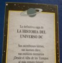 Cómics: HISTORIA DEL UNIVERSO LIBRO 2 ZINCO DC WOLFMAN & PÉREZ 1988 NUEVO. Lote 158021886