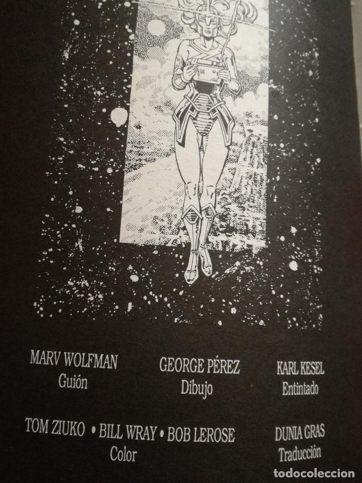Cómics: HISTORIA DEL UNIVERSO LIBRO 2 ZINCO DC WOLFMAN & PÉREZ 1988 NUEVO - Foto 3 - 223251335