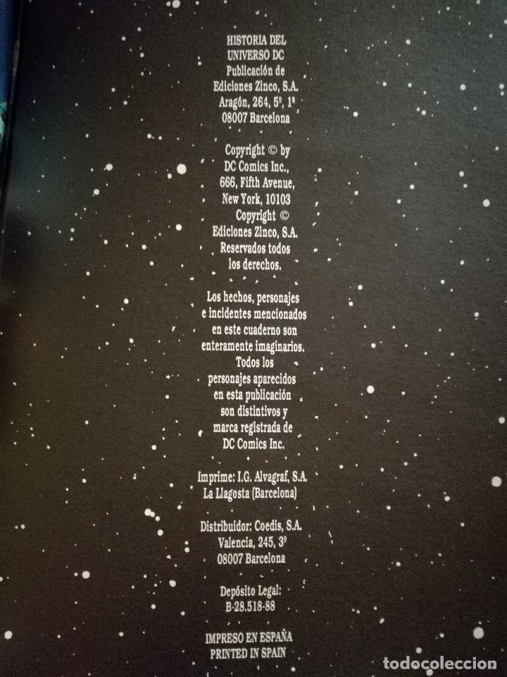Cómics: HISTORIA DEL UNIVERSO LIBRO 2 ZINCO DC WOLFMAN & PÉREZ 1988 NUEVO - Foto 4 - 223251335