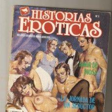 Cómics: HISTORIAS HEROTICAS - Nº 5 - AMOR DE DIOSA Y OTROS RELATOS - EDICIONES ZINCO - 1987 -. Lote 221565015
