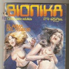 Comics: BIONIKA - Nº 9 - EL ARMA DEL TERROR Y OTROS RELATOS - EDICIONES ZINCO - 1986 - C. Lote 158175746