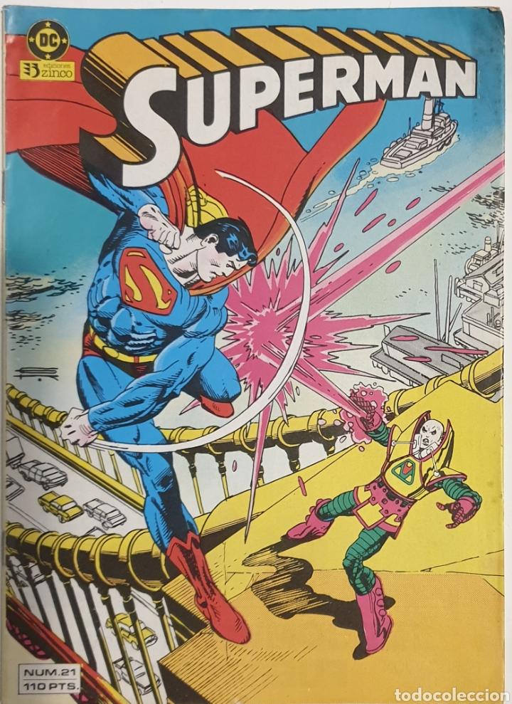 SUPERMAN NUM. 21 (Tebeos y Comics - Zinco - Superman)