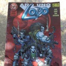 Cómics: LOBO AÑO UNO NUMERO ESPECIAL ALAN GRANT DC ZINCO 1996 . Lote 158617966