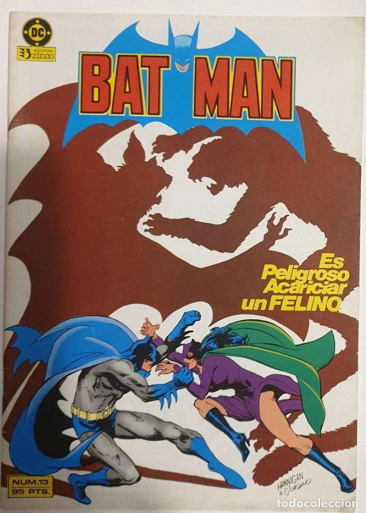 LOTE 3 CÓMICS BATMAN (Tebeos y Comics - Zinco - Batman)