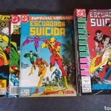 Cómics: ESCUADRON SUICIDA-COLECCION COMPLETA + 4 ESPECIALES-ZINCO. Lote 158992384