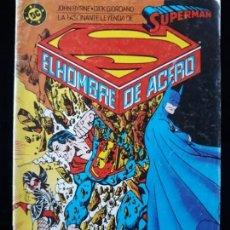Cómics: SUPERMAN EL HOMBRE DE ACERO Nº3 . ZINCO. Lote 159128326