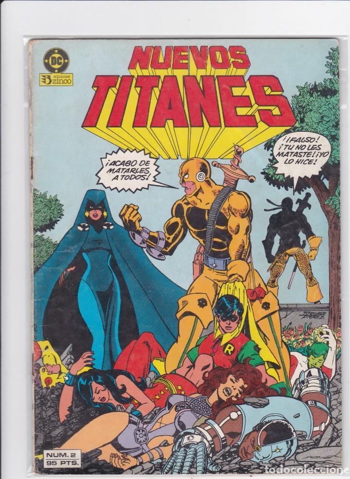 NUEVOS TITANES VOL 1 Nº 2 / DC / ZINCO 1984 MUY BUEN ESTADO. (Tebeos y Comics - Zinco - Nuevos Titanes)