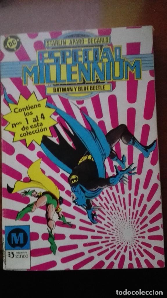 ESPECIAL MILLENNIUM DC COMICS TOMO 1 AL 4 EDICIONES ZINCO (Tebeos y Comics - Zinco - Retapados)