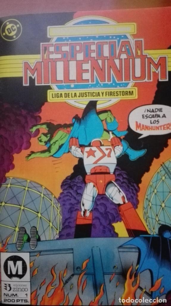 Cómics: Especial MILLENNIUM DC Comics Tomo 1 al 4 Ediciones Zinco - Foto 2 - 159348478