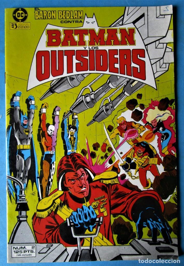 BATMAN Y LOS OUTSIDERS Nº 2 - EDICIONES ZINCO 1983 (Tebeos y Comics - Zinco - Batman)