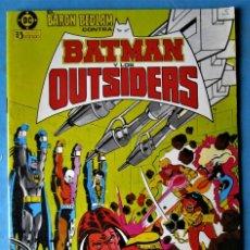 Comics: BATMAN Y LOS OUTSIDERS Nº 2 - EDICIONES ZINCO 1983 . Lote 159594370