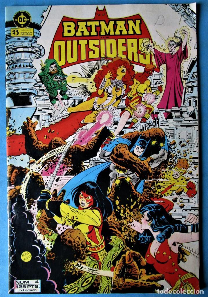 BATMAN Y LOS OUTSIDERS Nº 4 - EDICIONES ZINCO 1983 (Tebeos y Comics - Zinco - Batman)