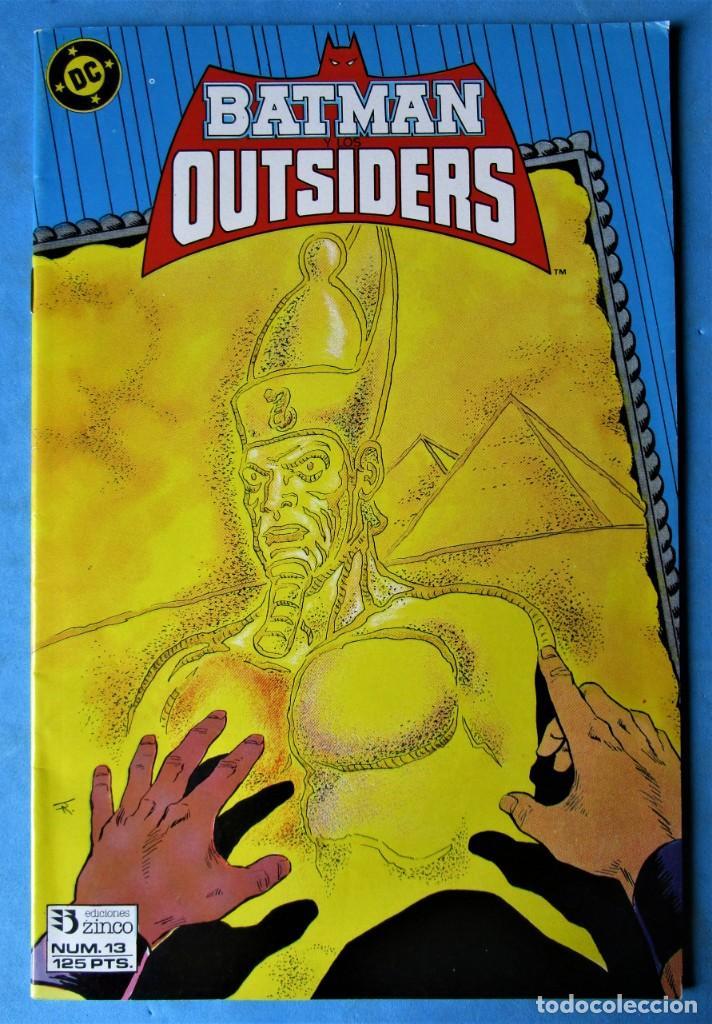 BATMAN Y LOS OUTSIDERS Nº 13 - EDICIONES ZINCO 1983 ''BUEN ESTADO'' (Tebeos y Comics - Zinco - Batman)