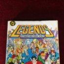 Cómics: DC ZINCO RETAPADO - LEGENDS COLECCION COMPLETA NUM 1 Y 2 Nº 1 2 3 4 5 6 Y EXTRA 12. Lote 159615518