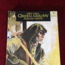 Cómics: DC ZINCO - GREEN ARROW FLECHA VERDE EL CAZADOR ACECHA LIBRO TRES RASTRO DE NIEVE. Lote 159615766