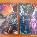 Cómics: THE PSYCHO - LIBRO Nº 1 Y LIBRO Nº 2 - HUDNALL, BRERETON - DC - ZINCO (7Z). Lote 159620658