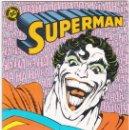 Cómics: SUPERMAN NÚMERO 23 VOL 2 EDITORIAL ZINCO EXCELENTE ESTADO. Lote 159633926