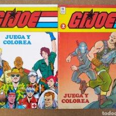 Cómics: LOTE G.I.JOE/GIJOE JUEGA Y COLOREA: NÚMEROS 1 Y 2 (EDICIONES ZINCO, 1990). 36 PÁGINAS CADA EJEMPLAR.. Lote 227723300