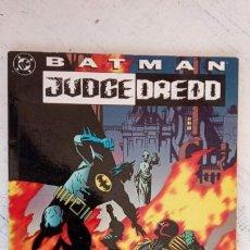 Cómics: BATMAN JUDGE DREDD - VENDETTA EN GOTHAM - MIGNOLA, GRANT, WAGNER, KENNEDY - ZINCO 1994. Lote 160189050