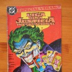 Cómics: LIGA DE LA JUSTICIA INTERNACIONAL Nº 3 - ESPECIAL VERANO - DC - ZINCO (EZ). Lote 210368483