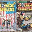 Cómics: JUDGE DREDD. LOTE DE 2 COMICS (4 Y 6) EDICIONES ZINCO 1985. Lote 160272218