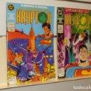 Cómics: EL MUNDO DE KRYPTON UNIVERSO DC PRESENTA ESPECIAL - ZINCO OCASION. Lote 160507234