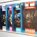 Cómics: LEYENDAS DE BATMAN SHAMAN COMPLETA 5 NUMEROS NUMS. 1, 2, 3, 4 Y 5 - ZINCO OCASION. Lote 160517082