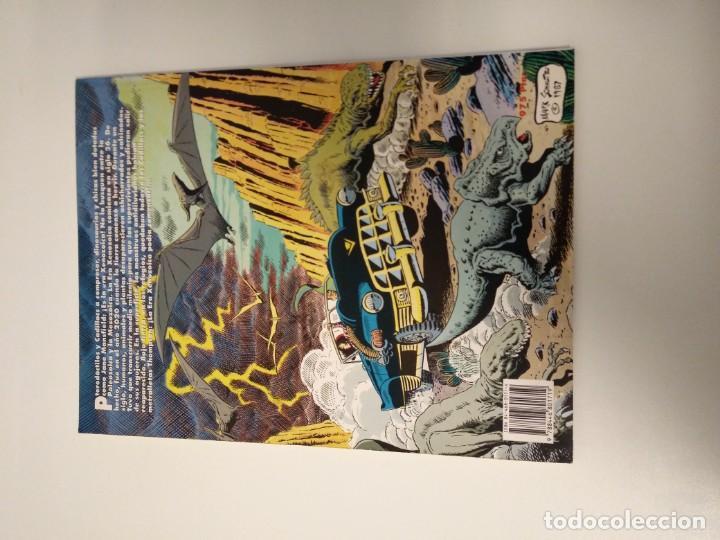 Cómics: CRONICAS DE LA ERA XENOZOICA. CADILLACS Y DINOSAURIOS. MARK SCHULTZ. EDICIONES ZINCO. - Foto 2 - 160559722