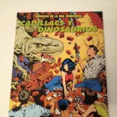 Cómics: CRONICAS DE LA ERA XENOZOICA. CADILLACS Y DINOSAURIOS. MARK SCHULTZ. EDICIONES ZINCO.. Lote 160559722
